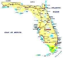 Florida Navi Mieten Mit Aktueller Karte Usa Navi Mieten World