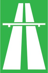 Highway-Traffic-Sign-Navi-mieten