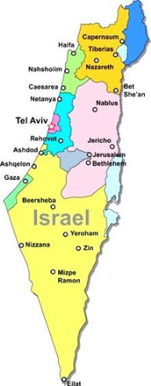 Jerusalem Karte Deutsch.Navi Mieten Israel Deutsche Geräte Navi Mieten World