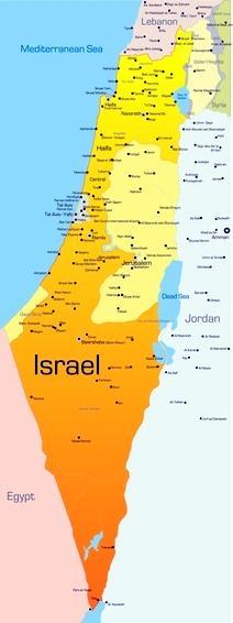 Israel Karte.Navi Mieten Israel Deutsche Geräte Navi Mieten World