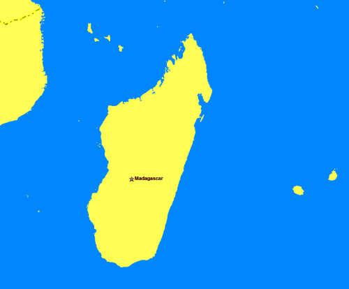 Madagaskar Karte.Navi Fur Madagaskar Mieten Deutsche Gerate Navi Mieten World