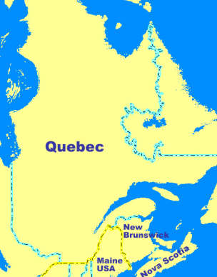 Quebec Karte.Navi Mieten Quebec Kanada Deutsche Geräte Navi Mieten World