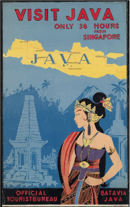 Travel-Poster-Java-Indonesia-Navi-mieten