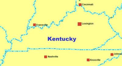 Navi mieten Kentucky KY USA. Deutsche Geräte -NAVI MIETEN WORLD